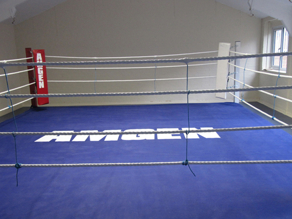 Aberaman Amateur Boxing Club after the work was completed.