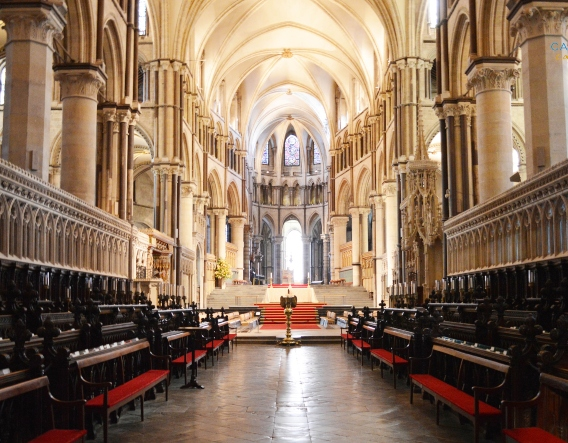 Canterbury Cathedral Quire. Image courtesy of Chapter of Canterbury Cathedral