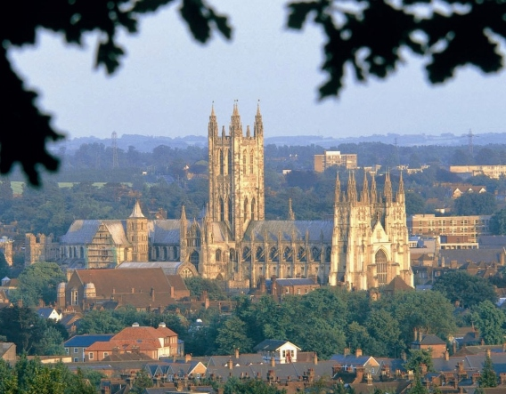Canterbury Cathedral. Image courtesy of Chapter of Canterbury Cathedral
