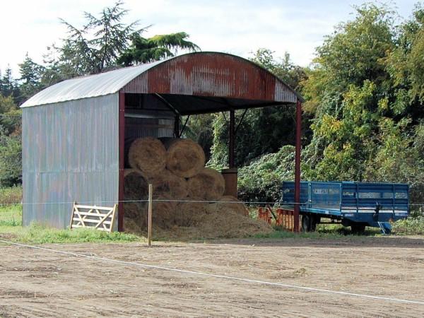 Dutch barn after