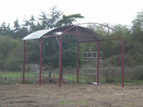Dutch barn before