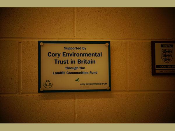 LCF plaque. Courtesy of Mark Crook.