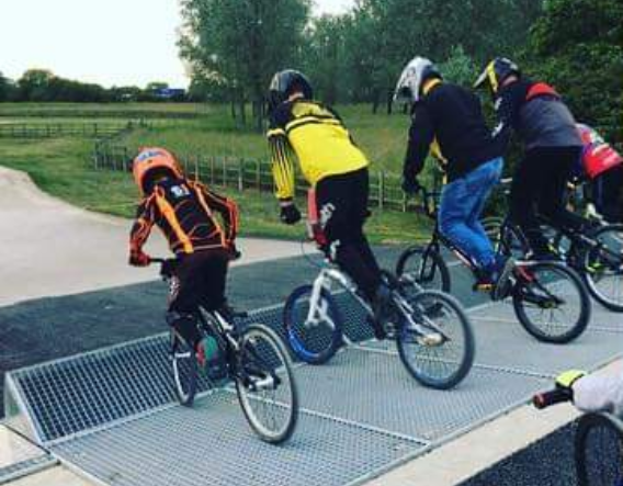 MK BMX Racing Club - new start gate. Images courtesy of MK BMX Racing Club and Mick George Ltd