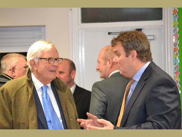 Trinity Centre, Ossett. Chris Welford, ENTRUST CEO and Roy Wilson, WREN