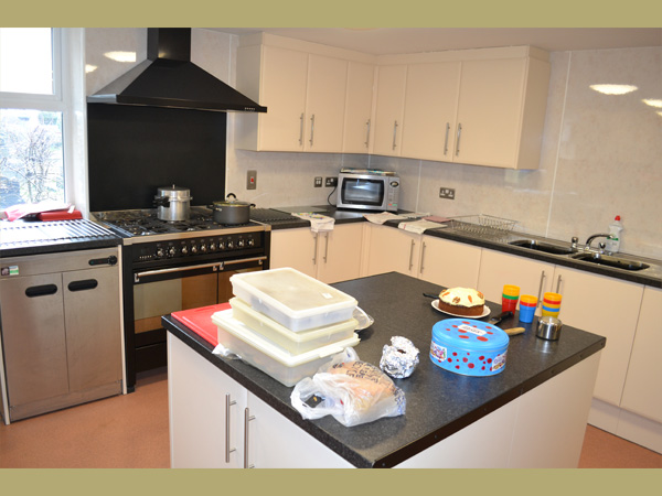 Trinity Centre, Ossett. Kitchen.